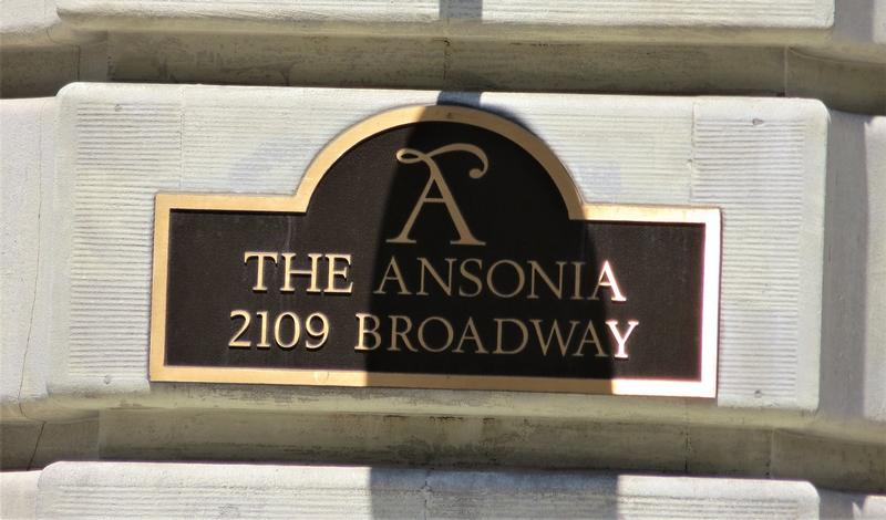 The Ansonia sign - NYC - History's Homes