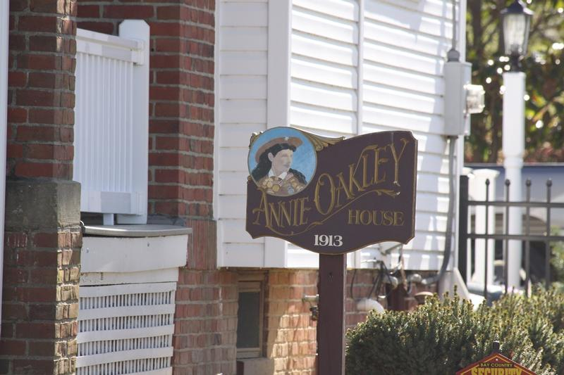 Annie Oakley Home sign - MD - History's Homes