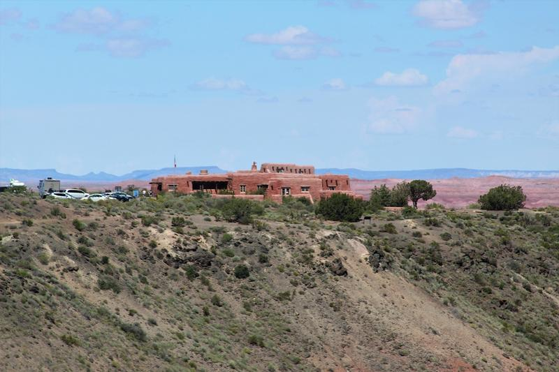 Painted Desert Inn - Petrified Forest National Park - History's Homes
