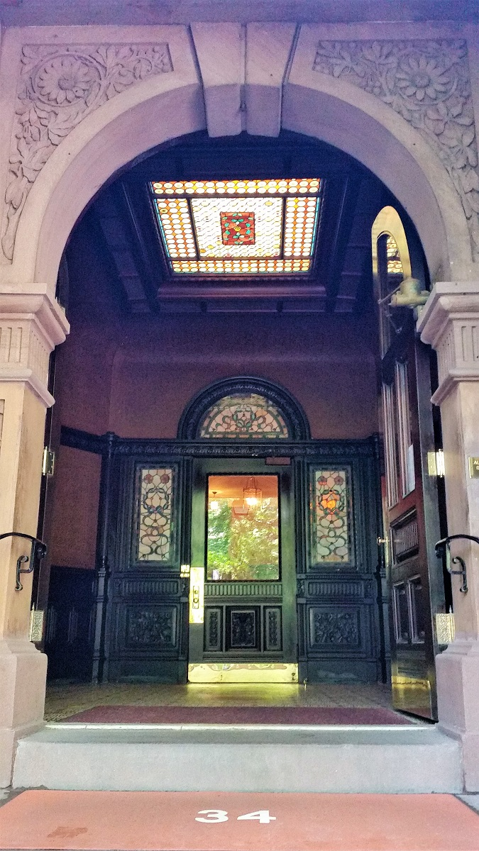 34 Gramercy Park fron entrance - History's Homes
