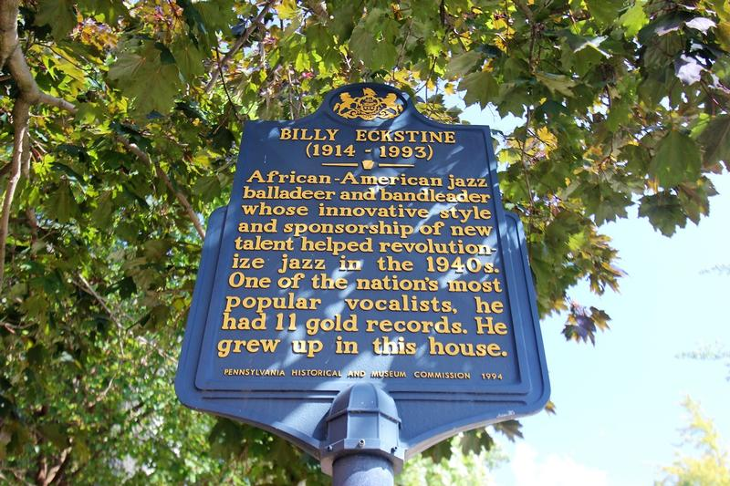 Billy Eckstine Home marker - Pittsburgh - History's Homes