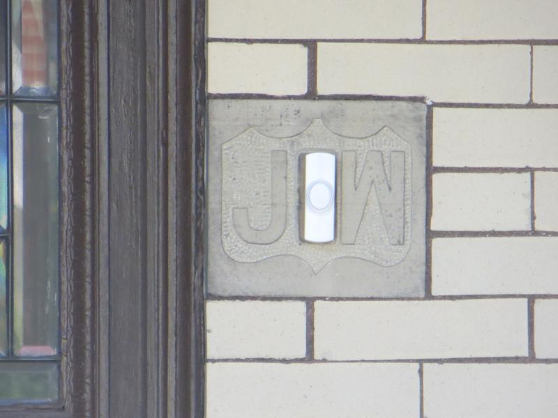 Honus Wagner Home doorbell - History's Homes