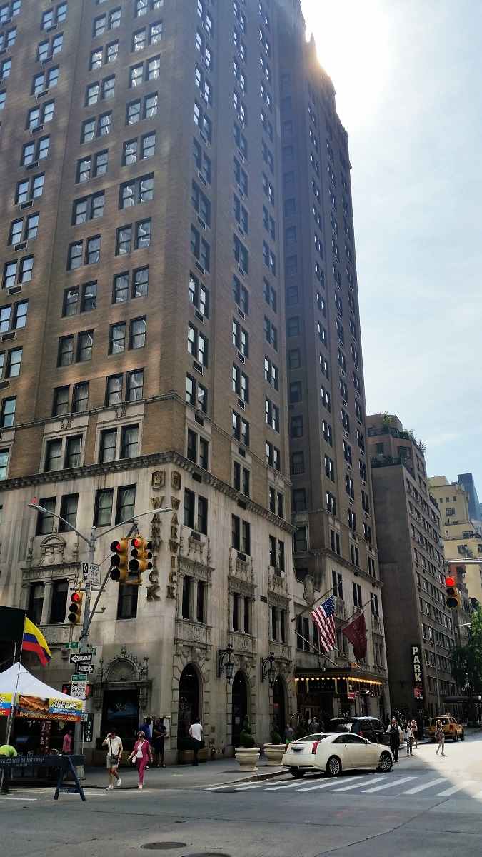 Warwick Hotel - West 54th Street - History's Homes