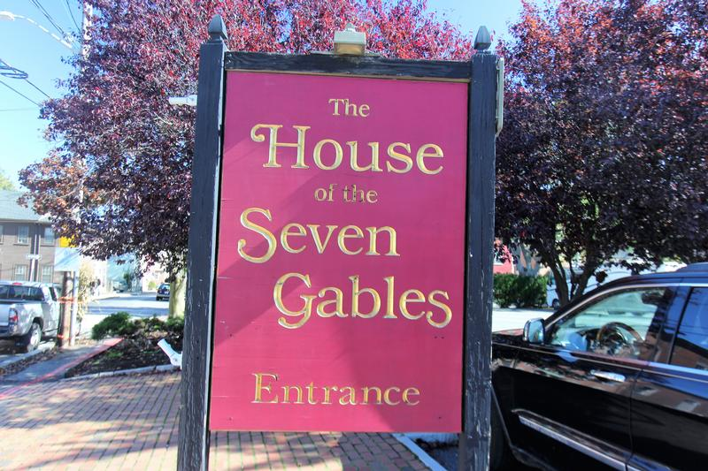 The House of the Seven Gables sign - Salem - History's Homes