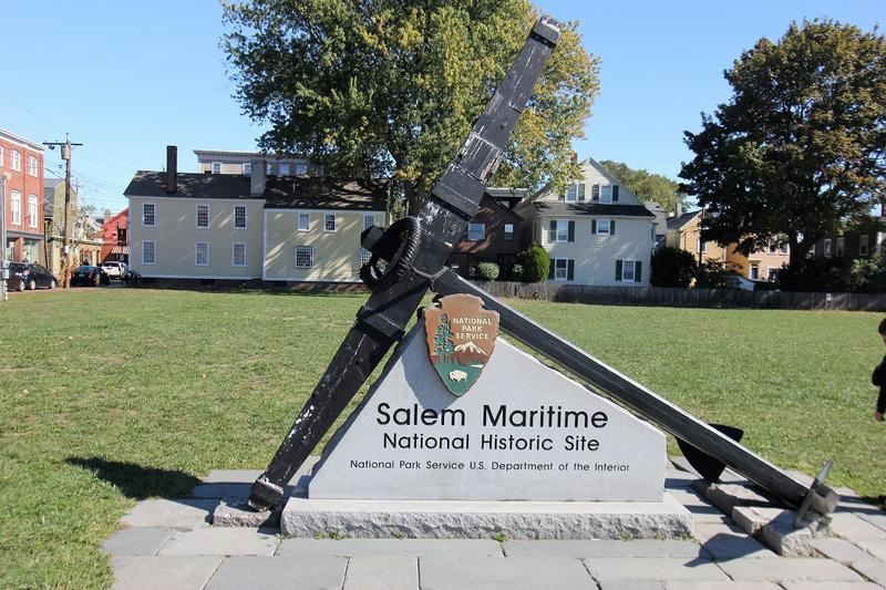 Salem Maritime sign - Salem - History's Homes