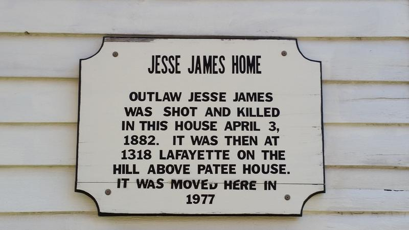 Jesse James Home marker - MO - History's Homes
