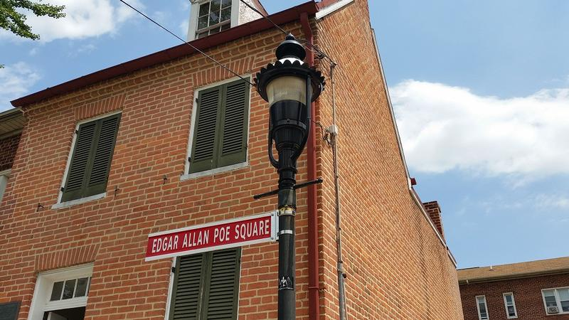 Edgar Allan Poe Home street sign - History's Homes