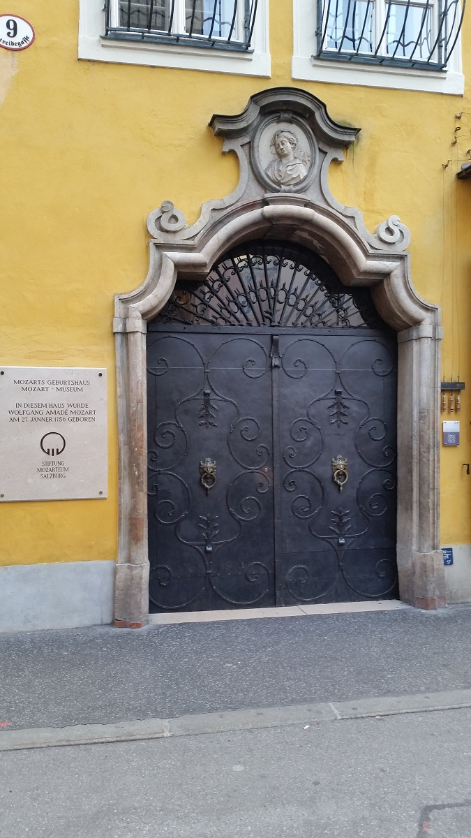 Mozart Birthplace - Salzburg - History's Homes