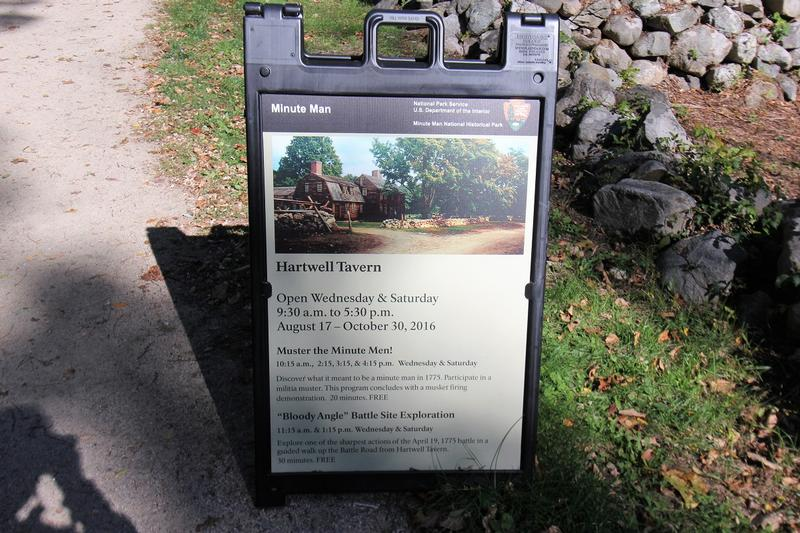 Hartwell Tavern sign - Lincoln - History's Homes