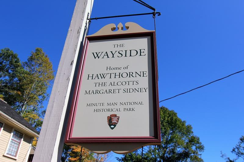 The Wayside sign - Concord - History's Homes