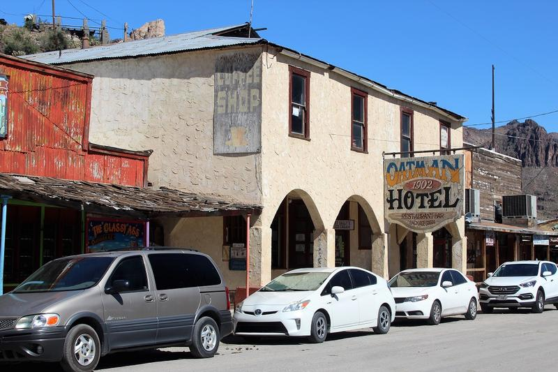 Oatman Hotel - Route 66 - History's Homes