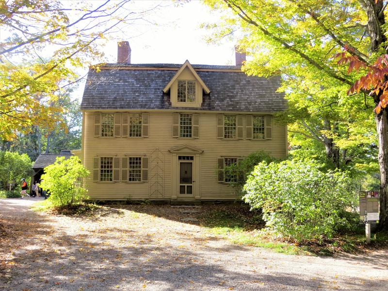 The Old Manse - MA - History's Homes