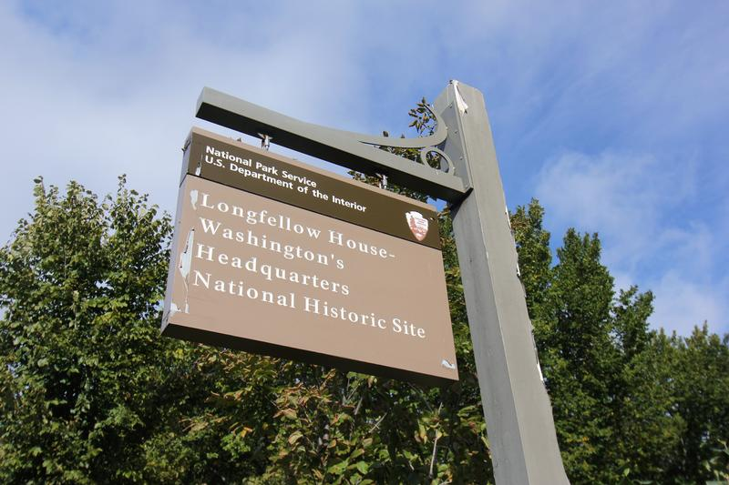 Longfellow House National Park sign - MA - History's Homes