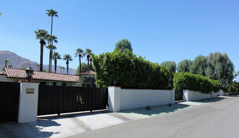 Harold Lloyd Home street view - Palm Springs - History's Homes