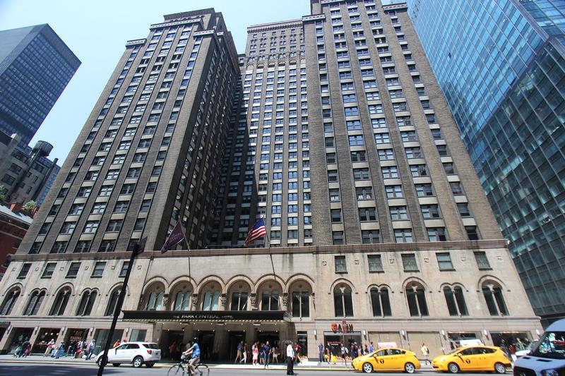 Park Central Hotel - New York City - History's Homes