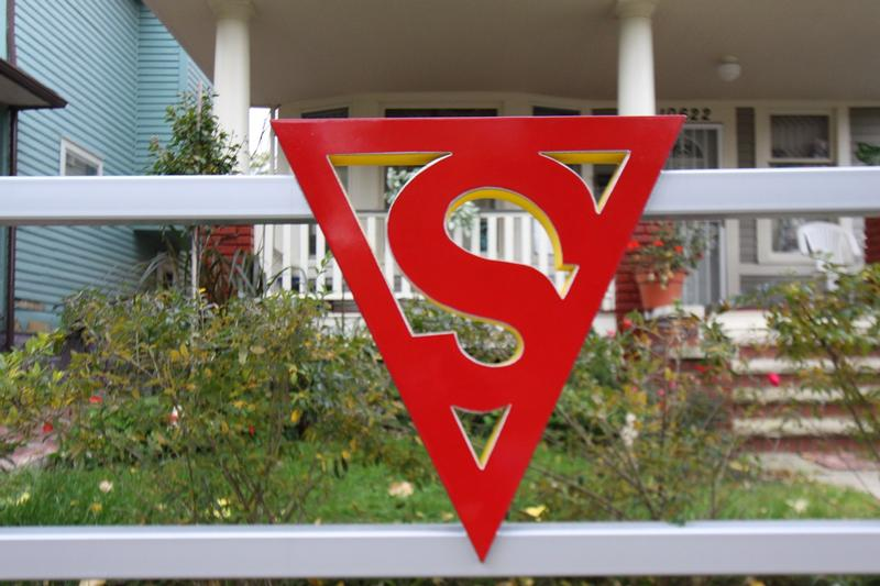 Superman Birthplace logo - Cleveland - History's Homes