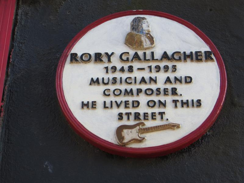 MacCurtain Street sign - Cork - History's Homes