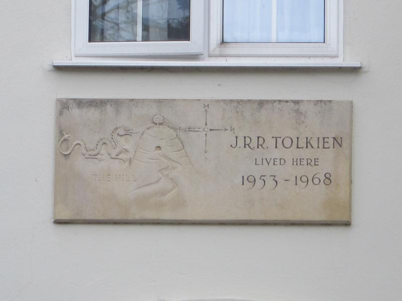 J.R.R. Tolkien Home marker - Oxford - History's Homes