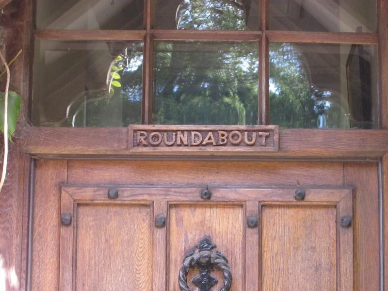 Boris Karloff front door of Roundabout - History's Homes