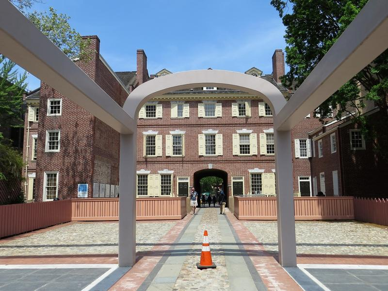 Benjamin Franklin Home Site - Franklin Court - History's Homes