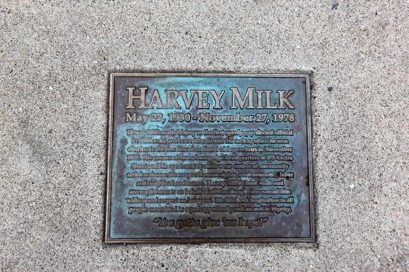 Harvey Milk Home plaque - San Francisco - History's Homes