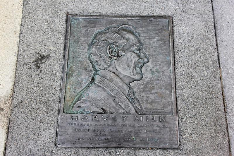Harvey Milk Home marker - San Francisco - History's Homes