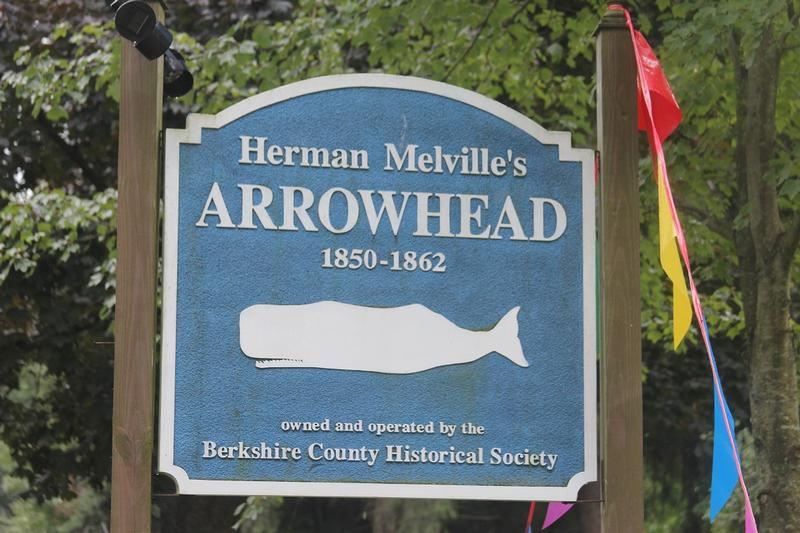 Herman Mellville Arrowhead sign - History's Homes