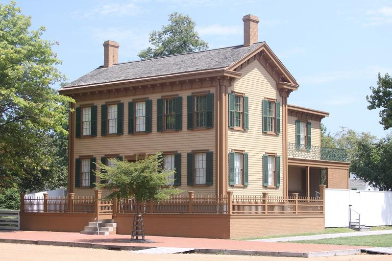 Lincoln House - Springfield - History's Homes
