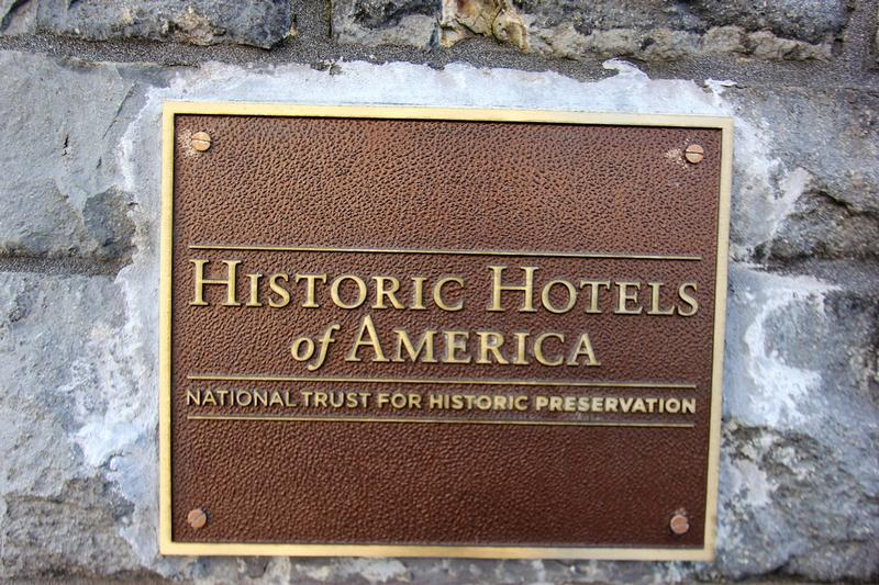 Mark Hopkins Hotel Historic Hotels plaque - San Francisco - History's Homes