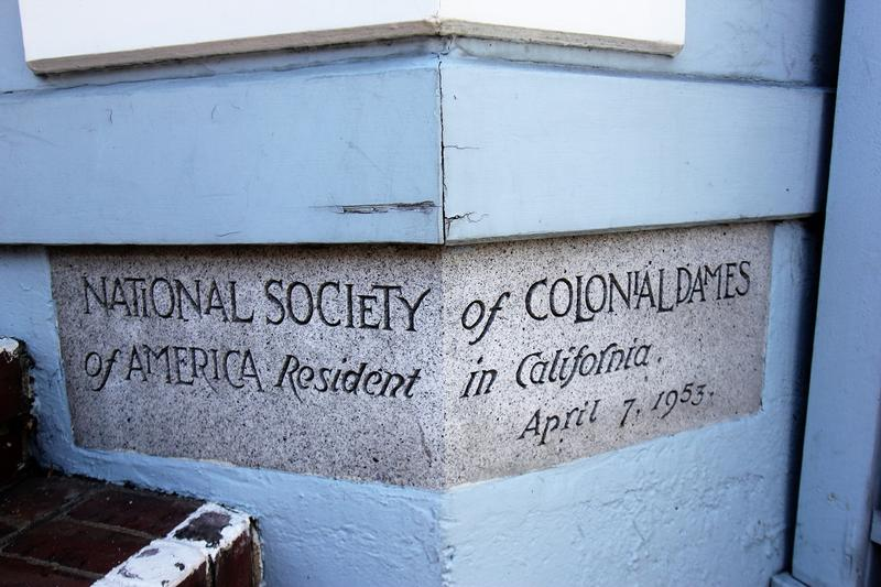 McElroy Octagon House cornerstone - San Francisco - History's Homes