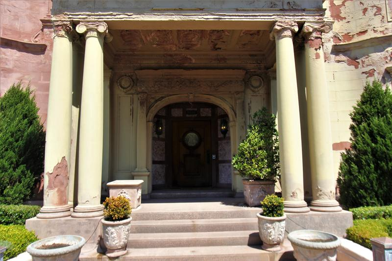 Whittier Mansion front door - San Francisco - History's Homes