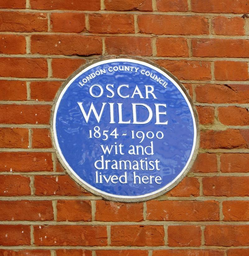 Oscar Wilde Home #2 plaque - London - History's Homes
