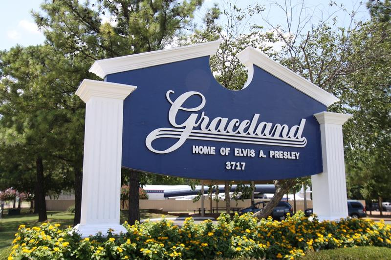 Graceland sign - Memphis - History's Homes