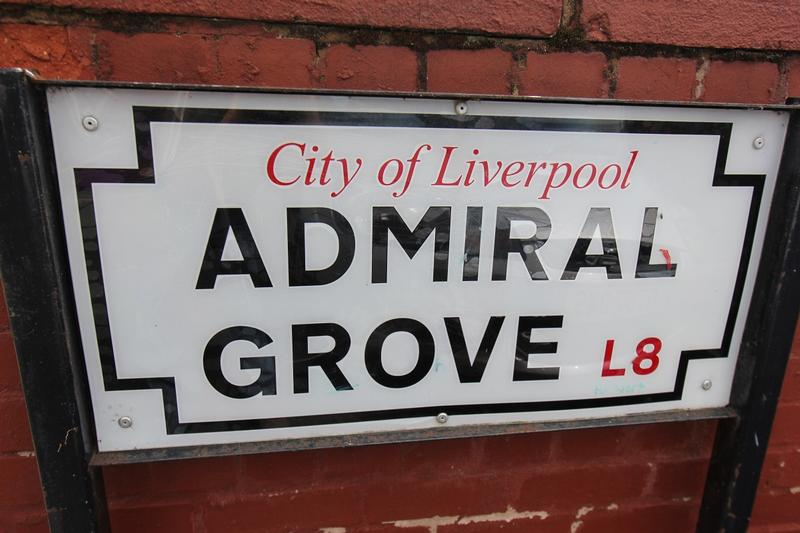 Admiral Grove sign - Liverpool - History's Homes