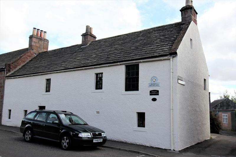 J.M. Barrie Birthplace - Kirriemuir - History's Homes