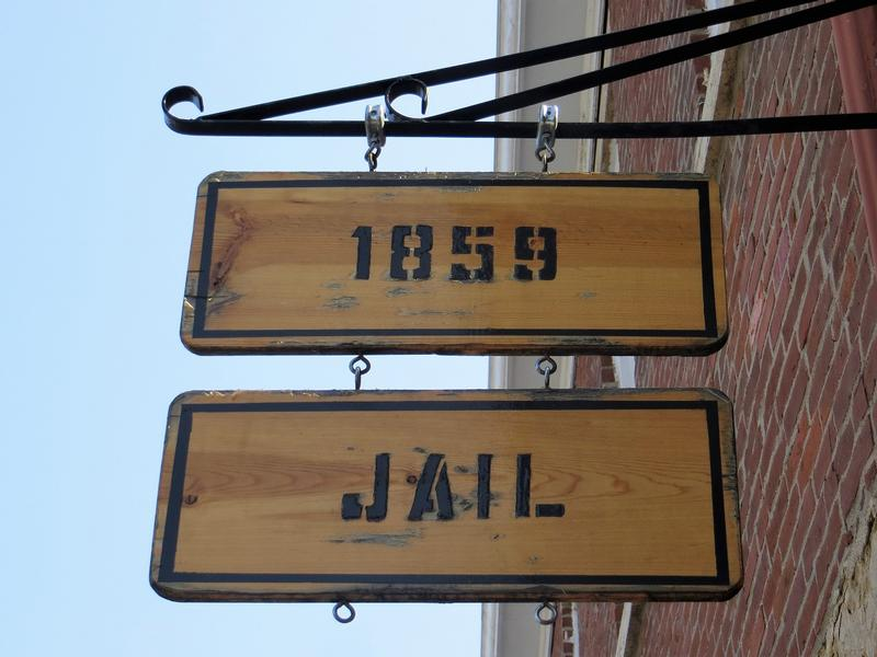 Jackson County Jail sign - Independence - History's Homes