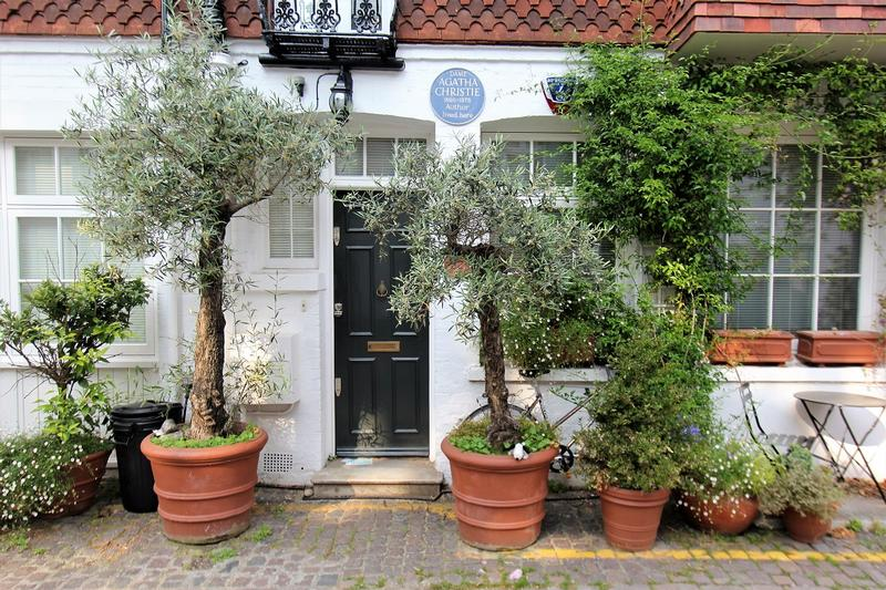 Agatha Christie Home front door - London - History's Homes