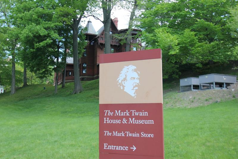 Mark Twain House sign - Hartford - History's Homes