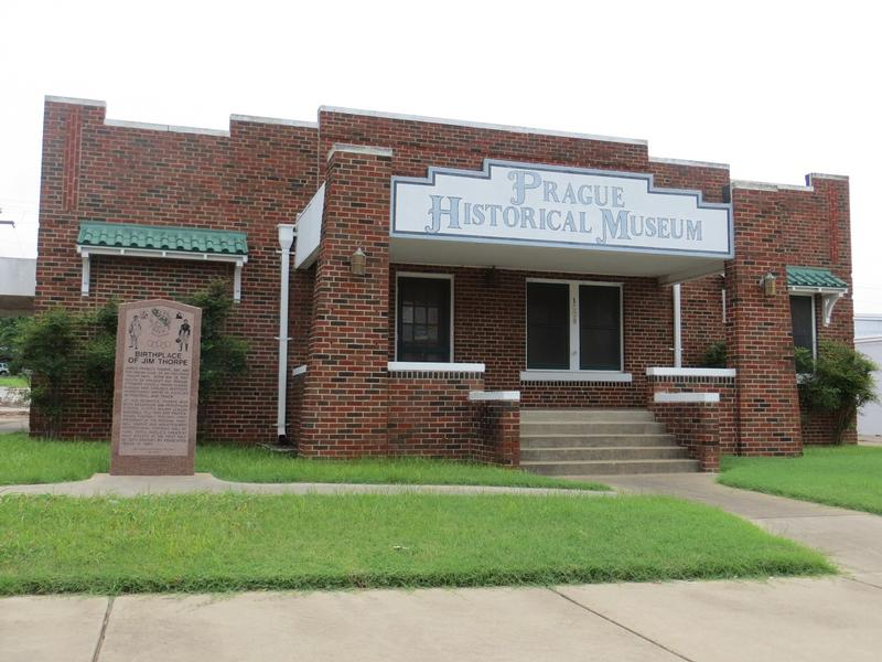 Jim Thorpe Birthplace Site - Prague, Ok - History's Homes
