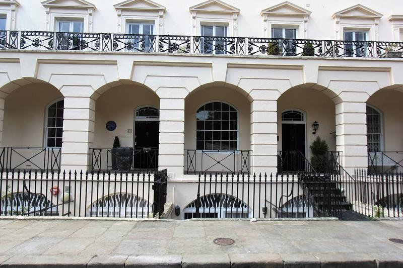 H.G. Wells Home Hanover Terrace - London - History's Homes