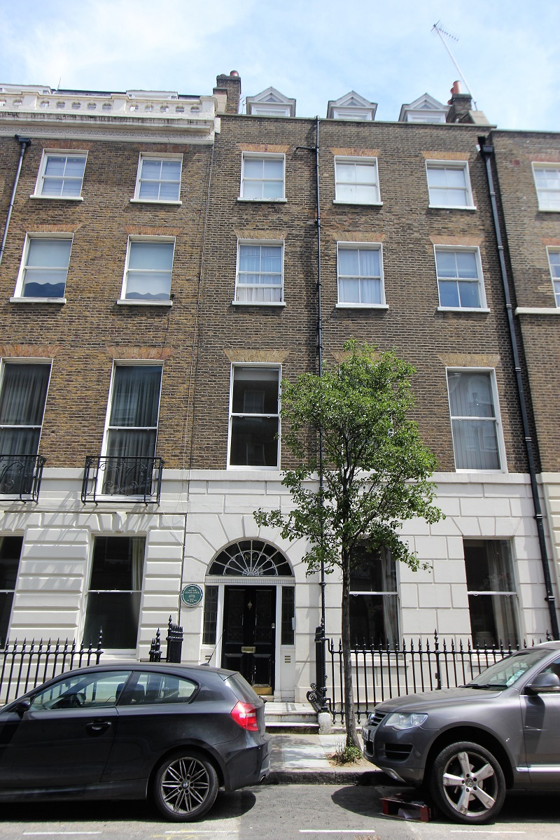 Arthur Conan Doyle Home Wimpole Street - London - History's Homes