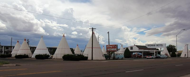 Wigwam Motel #6 Route 66 - Holbrook - History's Homes