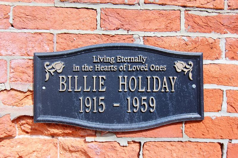 Billie Holiday Home #1 plaque - Baltimore - History's Homes