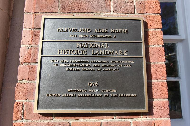 Cleveland Abbe House plaque - Washington, D.C. - History's Homes