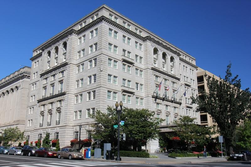 Hay-Adams Hotel - Washington, D.C. - History's Homes