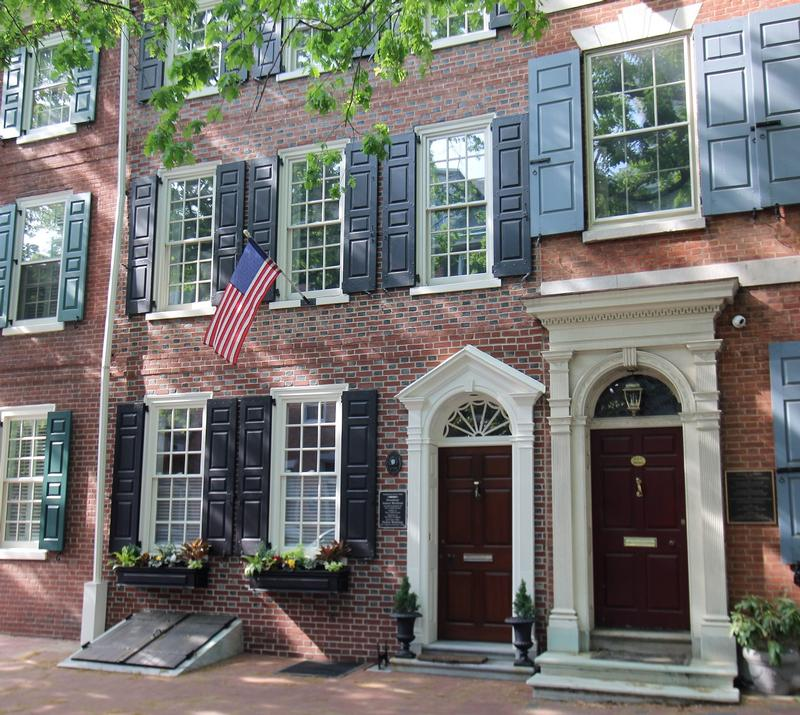 James Madison Home - Philadelphia - History's Homes