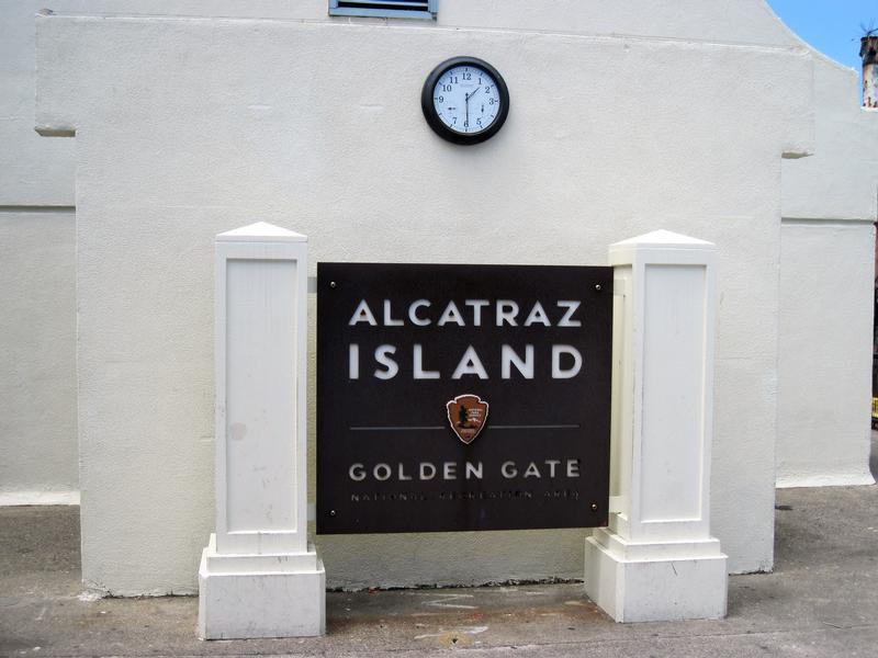 Alcatraz National Park sign - San Francisco - History's Homes